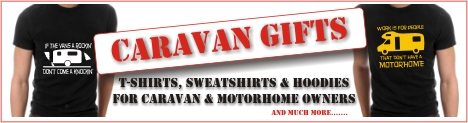 T-shirts for caravan and motorhome owners
