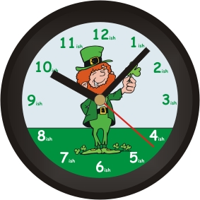 Image result for irish clock